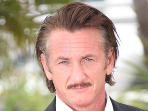 Sean Penn Haiti Carnaval in Cannes photocall - during the 65th Cannes Film Festival Cannes