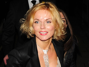 Geri Halliwell at the Marie Curie Cancer Care Fundraiser at Claridge's Hotel London