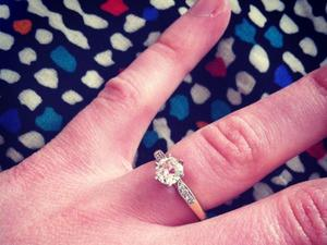 Matt Edmondson wife engagement ring