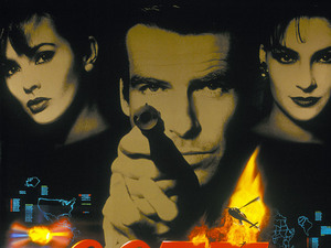 James Bond in posters: GoldenEye (1995)