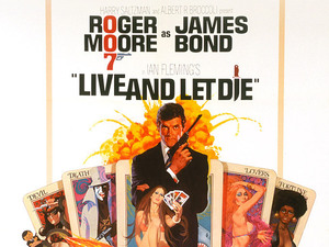 James Bond in posters: Live and Let Die (1973)