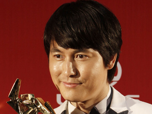 South Korean actor Jung Woo-sung