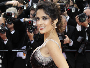 Madagascar 3: Europe's Most Wanted Cannes premiere: Salma Hayek