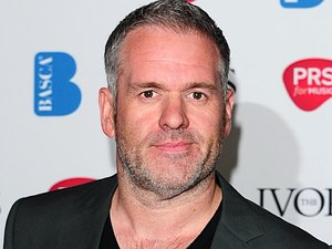 Chris Moyles at the 2012 Ivor Novello awards held at the Grosvenor House Hotel, London