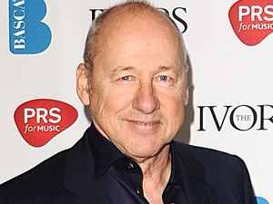 Mark Knopfler at the 2012 Ivor Novello awards held at the Grosvenor House Hotel, London