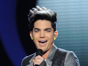 Adam Lambert performs on the 'American Idol' semi-final results show