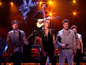 The Voice UK: Danny and his team perform.