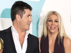 Simon Cowell, Britney Spears, Fox Presentation 2012