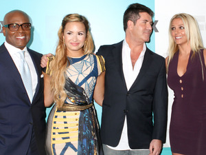 LA Reid, Demi Lovato, Simon Cowell, Britney Spears, Fox Presentation