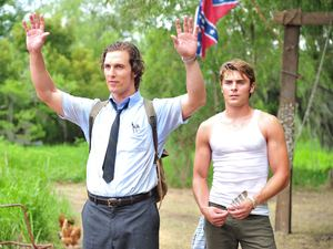 Matthew McConaughey and Zac Efron in The Paperboy