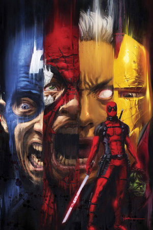 'Deadpool Kills the Marvel Universe' artwork