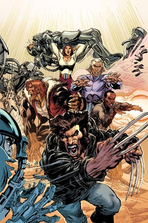 'The First X-Men' artwork