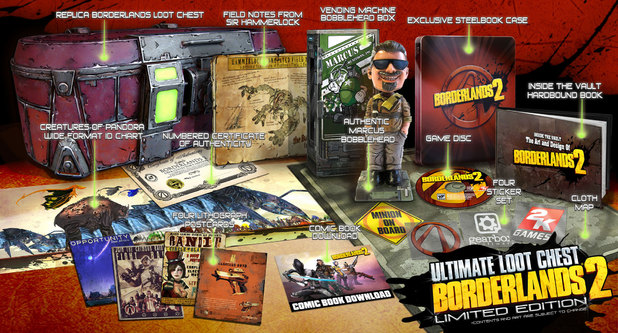 'Borderlands 2' Ultimate Loot Chest Limited Edition