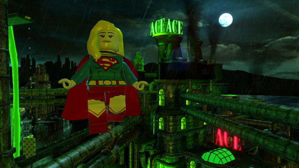 Supergirl in LEGO Batman 2: DC Super Heroes