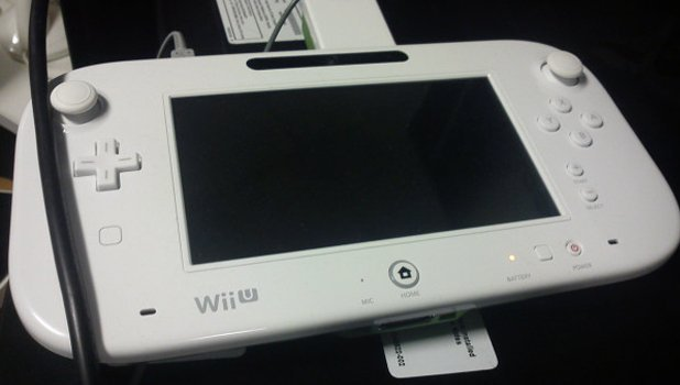 Wii U revised controller