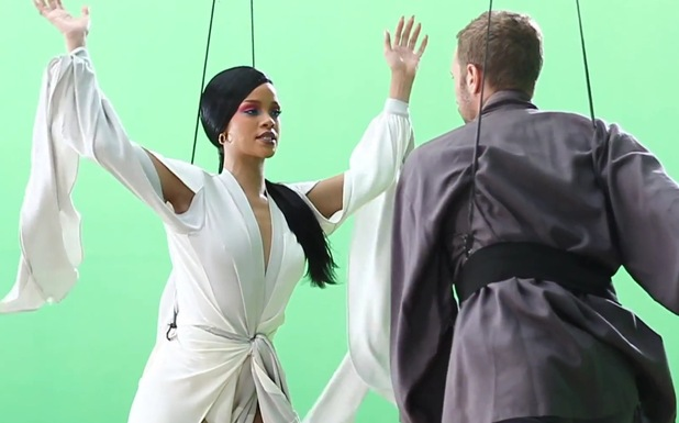 Rihanna & Chris Martin 'Princess Of China' stills