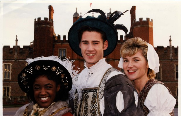 Diane Louise Jordan, Anthea Turner and Tim Vincent