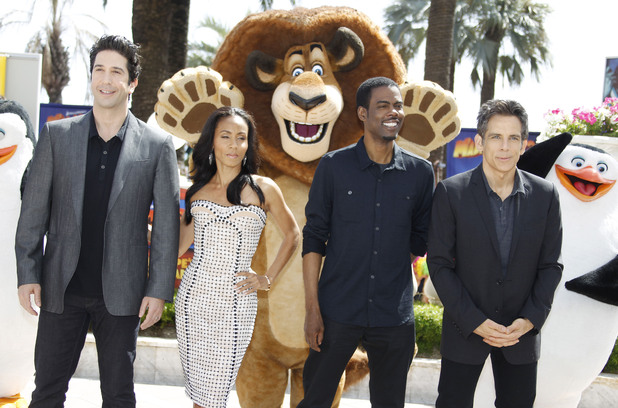David Schwimmer, Jada Pinkett Smith, Chris Rock, Ben Stiller
