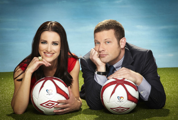 Soccer Aid: Kirsty and Dermot