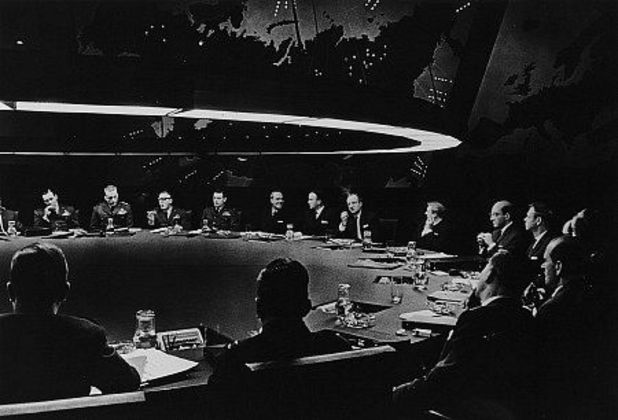 'Dr. Strangelove or: How I Learned to Stop Worrying and Love the Bomb' still