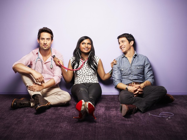 'The Mindy Project' cast: Ed Weeks, Mindy Kaling, Chris Messina