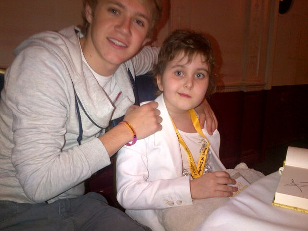 One Direction's Niall Horan with Niamh Power