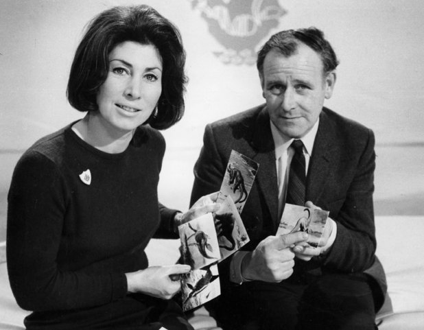 Valerie Singleton and John Macvarish