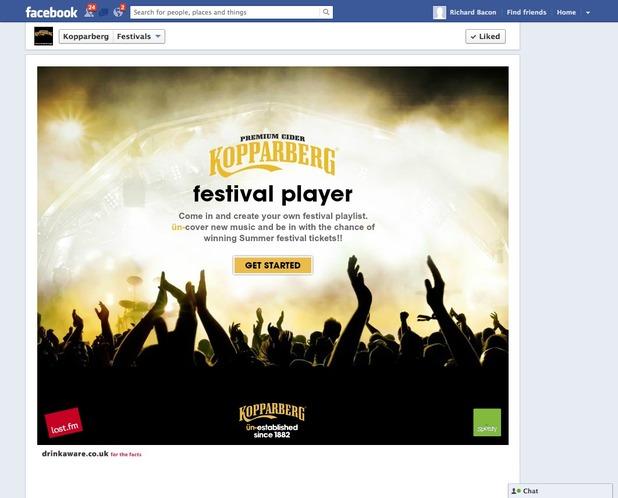 Kopparberg Festival Player