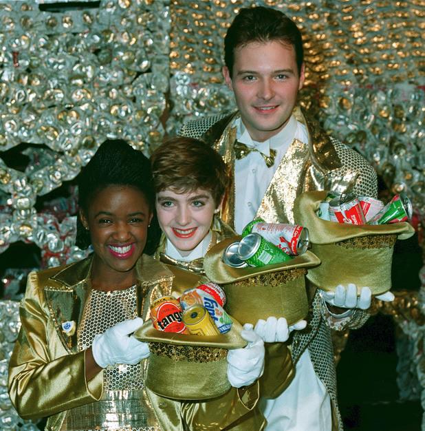 Diane-Louise Jordan, Yvette Fielding and John Leslie