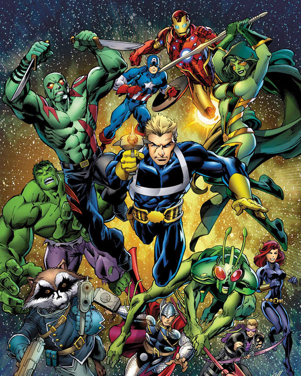Avengers Assemble #6 Guardians of the Galaxy