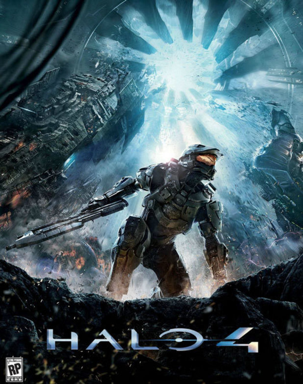 &#39;Halo 4&#39; cover art 