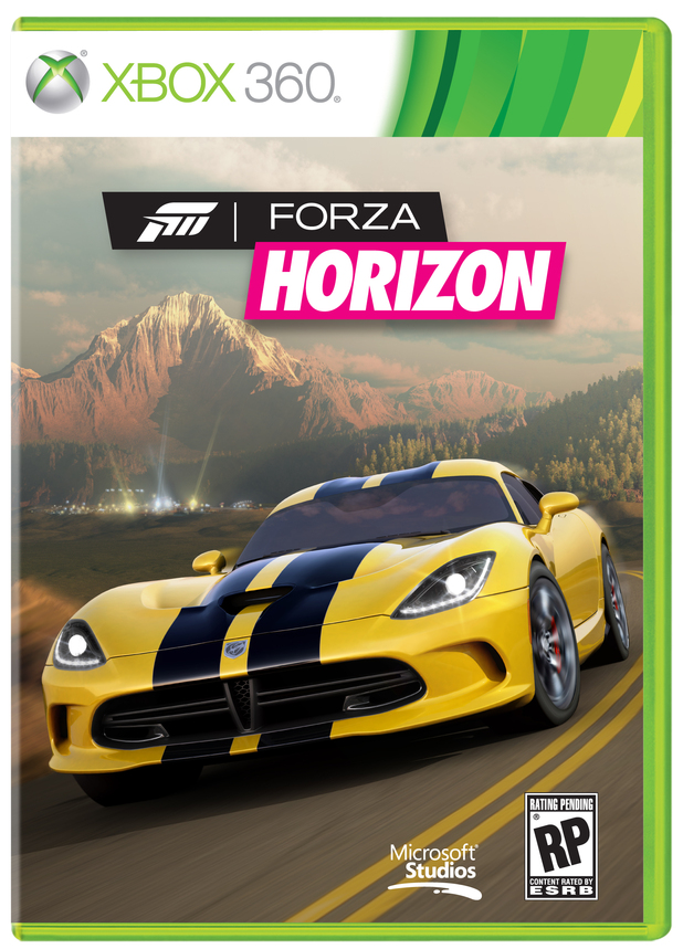 'Forza Horizon' pack shot