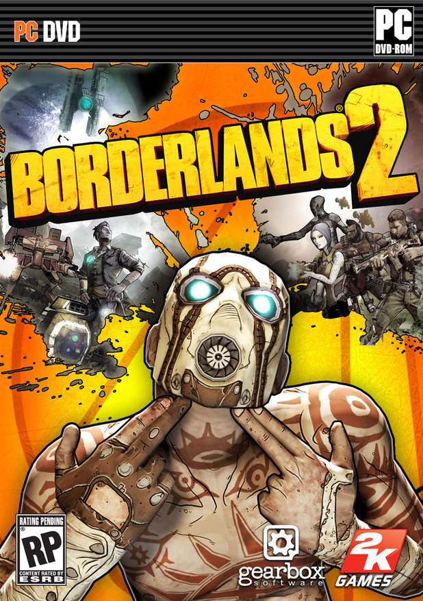 'Borderlands 2' cover art