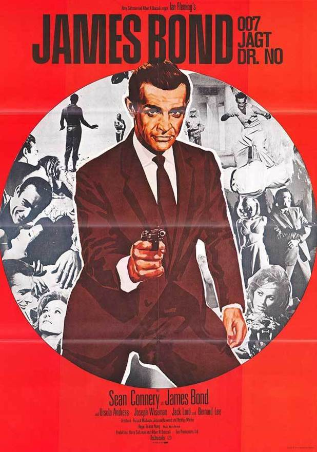James Bond in Posters