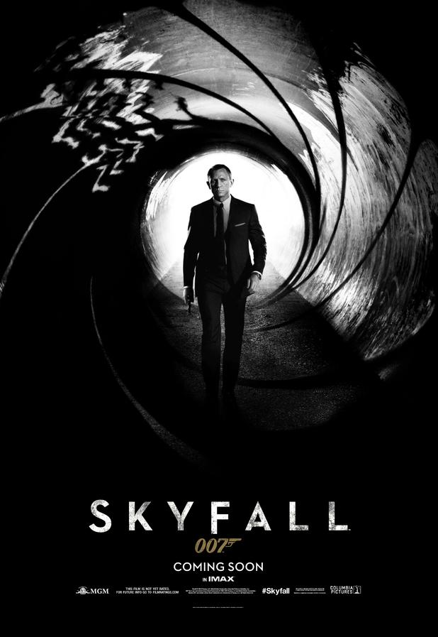 Daniel Craig Skyfall poster