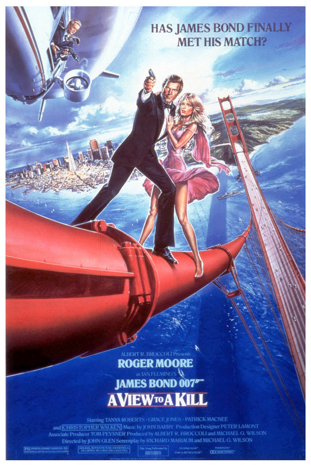 A View To A Kill 1985 James Bond In Posters Digital Spy