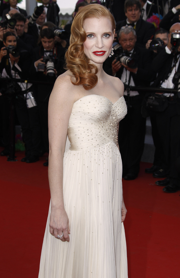 Madagascar 3: Europe's Most Wanted Cannes premiere: Jessica Chastain