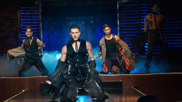 Channing Tatum stars as a male stripper in Steven Soderbergh's 'Magic Mike'.