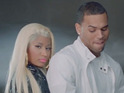Rapper Nas stars as Nicki Minaj's love interest in new clip.
