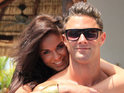 Ricci Guarnaccio proposes to Vicky Pattison during filming of the reality show.