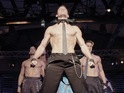 A new clip from the stripper movie Magic Mike debuts online.