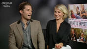 Cameron Diaz and 'Glee's Matthew Morrison talks to Digital Spy about dancing, Simon Cowell and Cheryl Cole's acting in 'What to Expect When You're Expecting'.