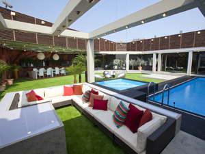 The 2012 Big Brother House: The garden