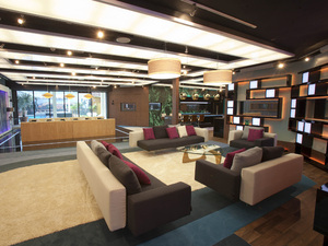 The 2012 Big Brother House: The living area