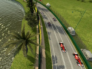 F1 Online: The Game: Melbourne Track