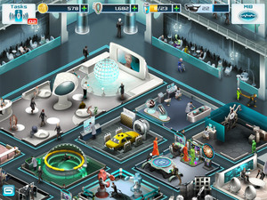 'Men In Black III' App screenshot