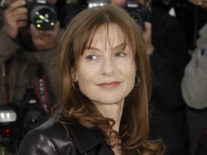 Actress Isabelle Huppert poses during a photo call for Amour at the 65th international film festival, in Cannes