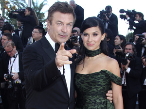 Killing them Softly Premiere: Alec Baldwin and Hilaria Thomas