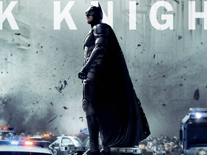 The Dark Knight Rises: Christian Bale as Batman.