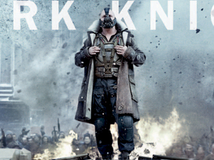 The Dark Knight Rises: Tom Hardy as Bane